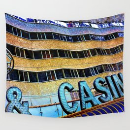 Pieces of Vegas Wall Tapestry