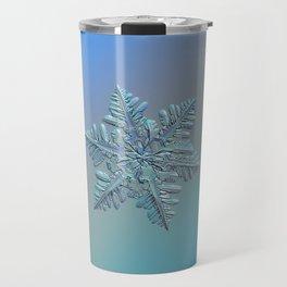 Real snowflake - 13 February 2017 - 5 alt Travel Mug