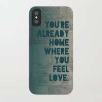 home sweet home iPhone & iPod Cases featuring Home by Leah Flores