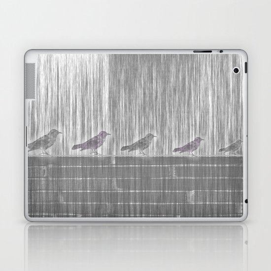 FIVE LITTLE BIRDS Laptop & iPad Skin