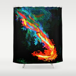 Abstract Print #1 Shower Curtain