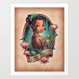 Bayou Beauty Art Print
