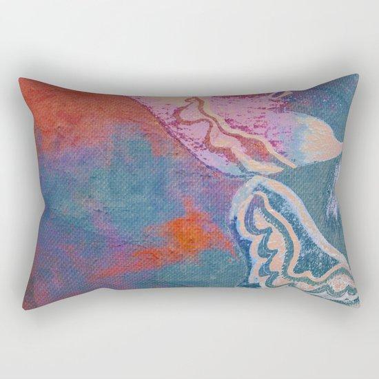 Moths 2 Rectangular Pillow