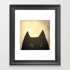 cat-209 Framed Art Print
