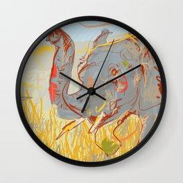 Kooky Elephant Wall Clock