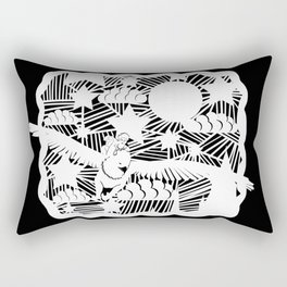 You better hold on to me Rectangular Pillow
