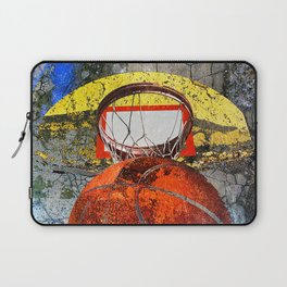 Basketball vs T Laptop Sleeve