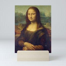 Mona Lisa - Leonardo da Vinci Mini Art Print