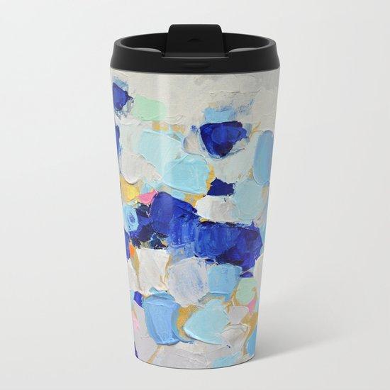 Amoebic Party No. 2 Metal Travel Mug