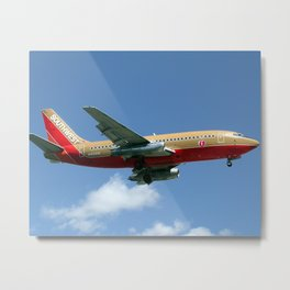 Southwest Airlines 737-200 Metal Print