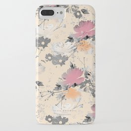 ombre floral - all iPhone Case