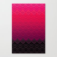 ELENA PATTERN - FLAMENCO VERSION Canvas Print
