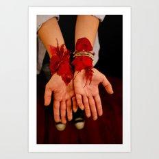 the sarajevo rose project (rebekah I) Art Print