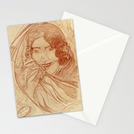 Casanova by J. Baron Stationery Cards