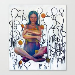 Lo unico que me pertenece  Canvas Print