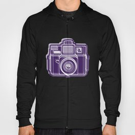 I Still Shoot Film Holga Logo - Deep Purple Hoody