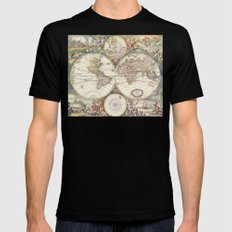 Wit's World MEDIUM Mens Fitted Tee Black