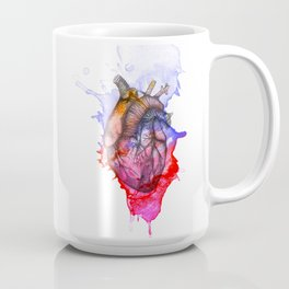 Heart on the Wall Coffee Mug