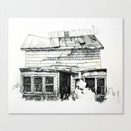 Succumb Canvas Print