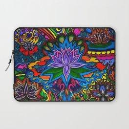 Lotus Flower Psychedelic Dreams Laptop Sleeve