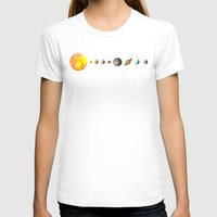 solar system T-shirts featuring The Solar System by Terry Fan