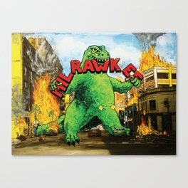 MilRAWKee Canvas Print