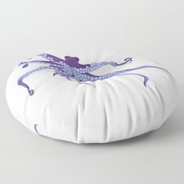Awesome Purple Octopus Floor Pillow