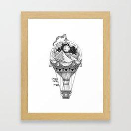 Rising Above Framed Art Print
