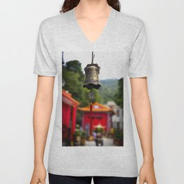 Dangling in the wind Unisex V-Neck