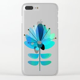 Die Blaue Blume Clear iPhone Case