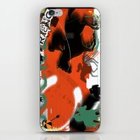 racing iPhone & iPod Skins featuring Horse Racing by Robin Curtiss
