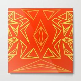 sacred magic pattern Metal Print