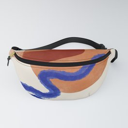 Playfull red and blue Fanny Pack