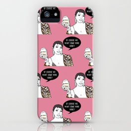 Wine honey iPhone Case