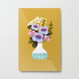 Earth Day Bouquet Metal Print