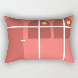 House of The Two Suns Rectangular Pillow