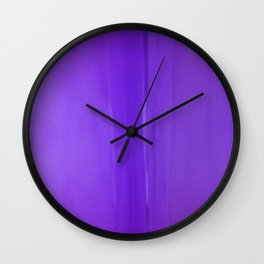 Abstract Purples Wall Clock