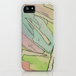 Torn Landscape iPhone Case