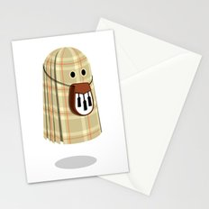 Plaid ghost Stationery Cards