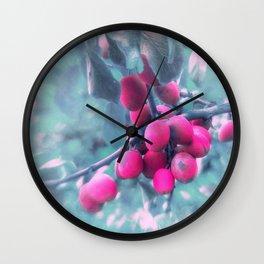 SUMMERPLUMS Wall Clock