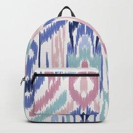 Ikat Ikat Pastel Wandering Backpack