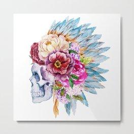 Skull 08 Metal Print
