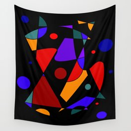 Abstract #86 Wall Tapestry