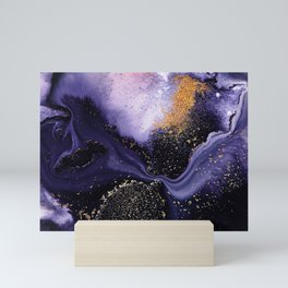 Flow I Abstract Mini Art Print