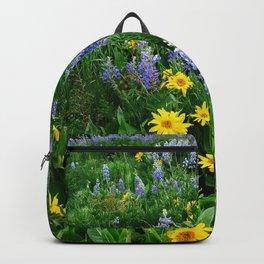 Field of wildflowers Backpack