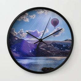 Lofoten Island Norway Wall Clock