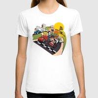 mario kart T-shirts featuring Super Fighting Kart by Legendary Phoenix