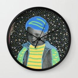 Young Sad Constellation Wall Clock
