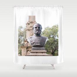 Forsyth Statue #2 Shower Curtain