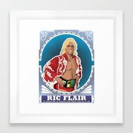 Ric Flair WOOOOO! Framed Art Print